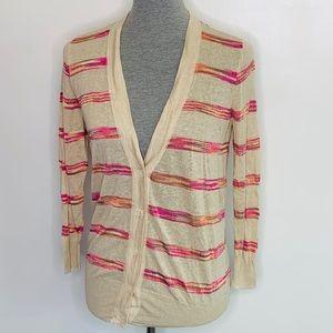 ⭐️3/$25⭐️ Ann Taylor Loft light striped sweater